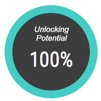 100% of our team unlock potential